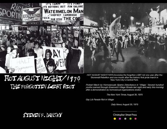 Hot August Night/1970: The Forgotten LGBT Riot